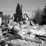 Mukinje – spaljena kuća dvoje staraca Foto: Igor Galo