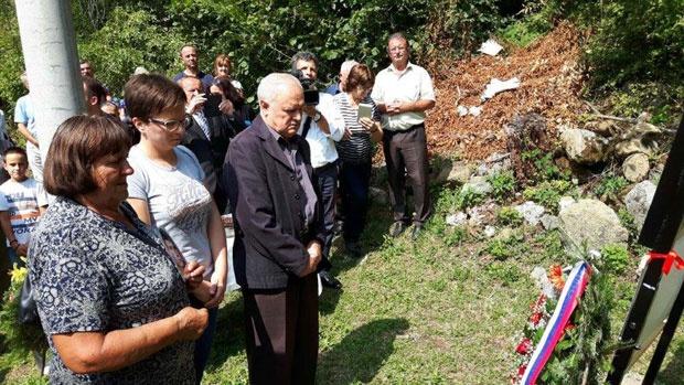Otkrivanje spomen-obeležja u Gostoviću