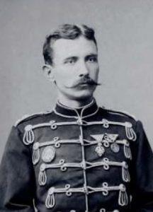 Konjički poručnik Petar Bojović