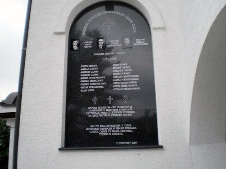 UGajevima kod Šamca danas je služen parastos za 18 poginulih boraca i tri civilne žrtve proteklog  otadžbinskog rata, te za 16 žrtava iz Drugog svjetskog rata sa ovog područja.