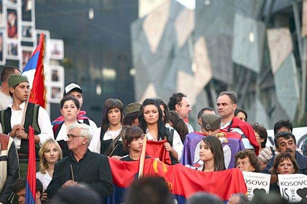 Skup protiv nezavisnosti KiM u Australiji