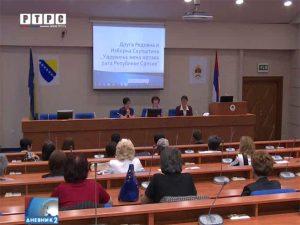"""Udruženje žena žrtava rata Republike Srpske"" Foto: RTRS"