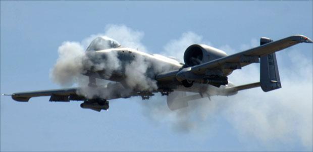 * Avion A-10 granatira uranijumom