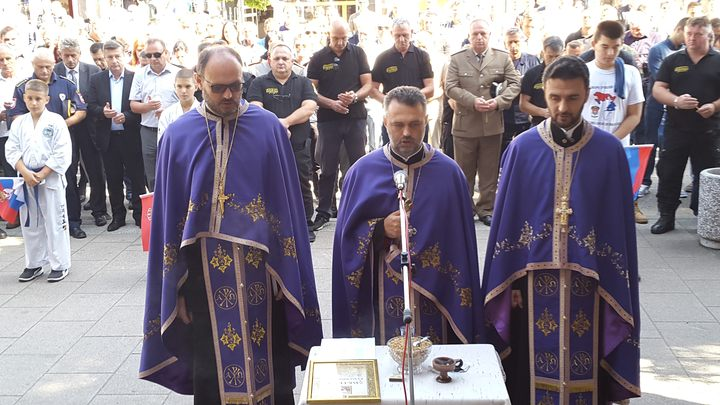 Parastos za 26 pripadnika Petog odreda Specijalne brigade policije, poginulih u odbrambeno-otadžbinskom ratu, služen je danas u Doboju u okviru obilježavanja 25 godina od osnivanja tog odreda.