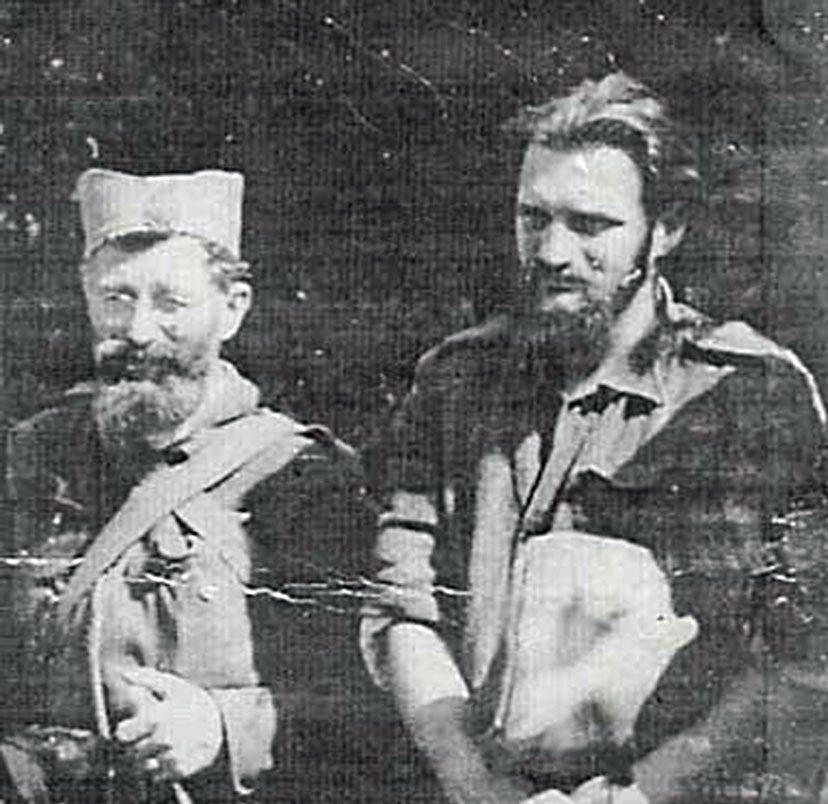 Дража Михаиловић и четнички војвода таковски Звонимир Вучковић/Фото: архива