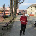Osamdesettrogodišnja Irena Proskauer, učiteljica u penziji.