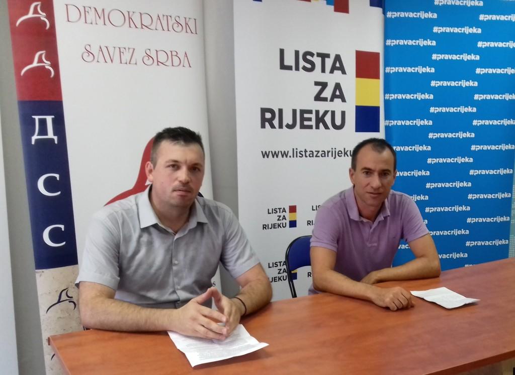Jovica Radmanović i Danko Švorinić