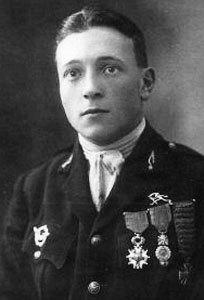 Vojni pilot Petar Marinović