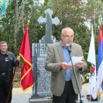 """U Priboju Kod Lopara danas je svečano otkriven i osveštan spomenik na kome su uklesana imena 16 boraca Specijalne brigade """"Panteri"""" koji su poginuli u odbrani ovoga kraja i Republike Srpske."""