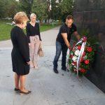Predsjednik Organizacije porodica zarobljenih i poginulih boraca i nestalih civila Prijedor Zdravka Karlica.