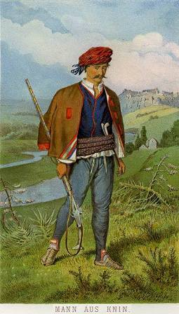 Serežaner (graničar) iz Knina