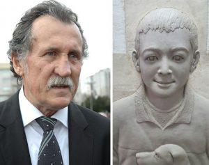 Dragoljub Dragi Mirković, Reljef dečakov već urađen i izliven