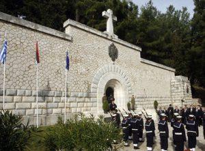 Mauzolej na ostrvu Vido Foto: Tanjug / Rade Prelić / nr