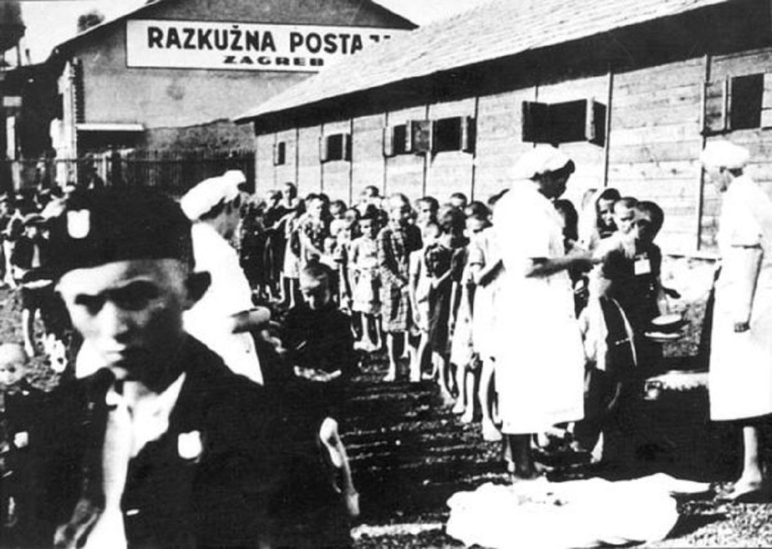 Djeca iz logora Stara Gradiška; Zagreb, 11. jula 1942. Foto: JUSP Jasenovac/Crol.hr