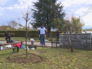 Drakulić - Obnova spomenika Foto: RTRS