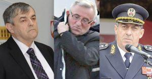 Generali Božidar Delić ,Vladimir Lazarević, i Ljubiša Diković