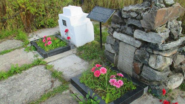 Grobovi stradalih Srba u Zapolarju / Foto A. Ribin