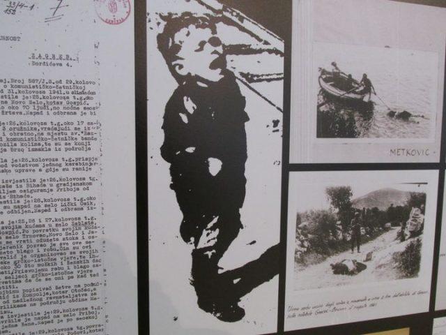 """BEOGRAD, 21. APRILA /SRNA/ - U beogradskoj galeriji """"Progres"""" večeras je otvorena izložba """"Jadovno-Jasenovac-Kozara-Sajmište"""", povodom obilježavanja Dana proboja zatočenika iz koncentracionog logora Jasenovac."""