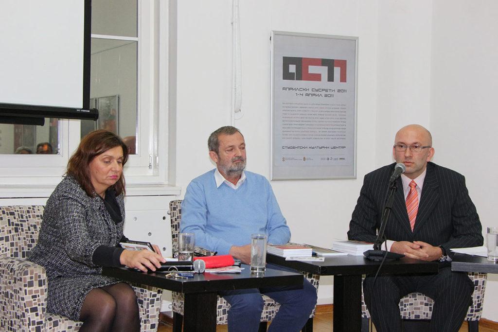 Vesna Kapor, dr Milan Micić i dr Miljan Milkić