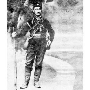 Mustafa Golubić kao dobrovoljac u Prvom balkanskom ratu