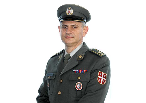 Potpukovnik Radomir Aleksandrić Foto P. Mitić