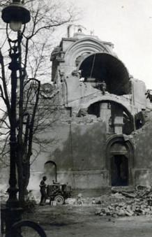 Rušenje crkve u Mariboru 1941. g.