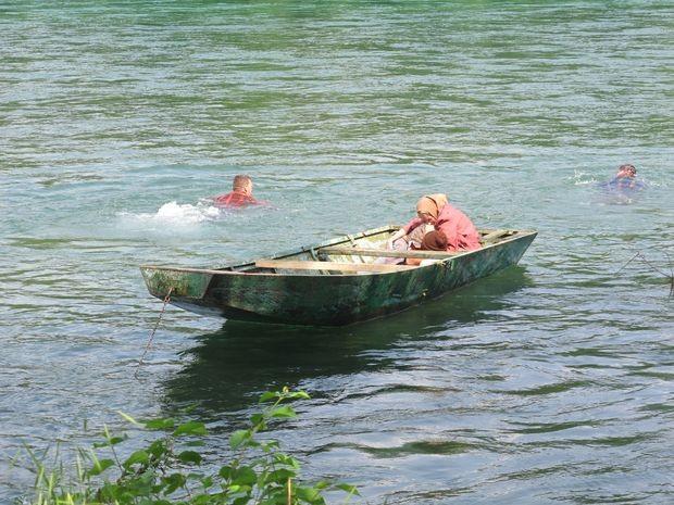 Scene snimljene na Drini