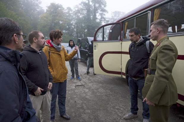 Dana Budisavljević u razgovoru sa glumcima