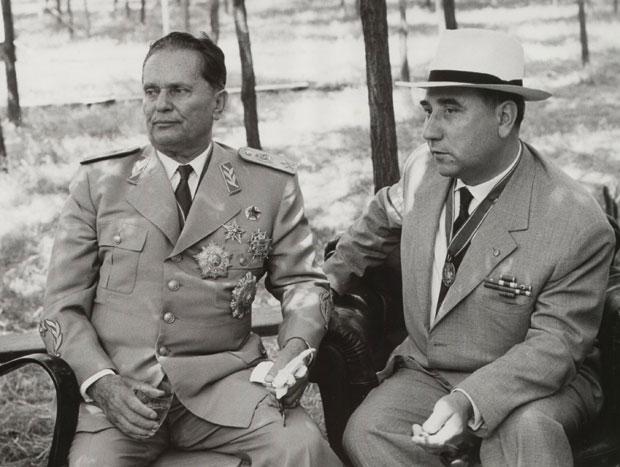 Josip Broz i Aleksandar Ranković