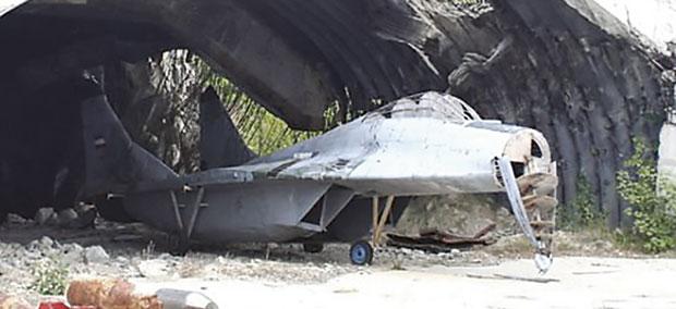 """ТРОЈАНАЦ Макета """"МИГ-29"""" на Батајници 1999."""