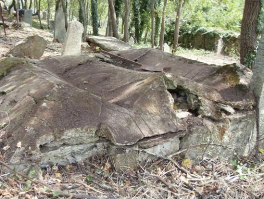 Slika 8. Ovde su sahranjena zajedno tri ratna druga – Lokacija Skočivir