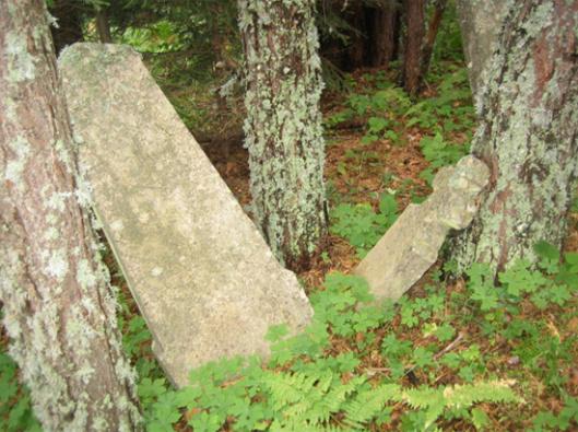 Slika 2. Prikaz pojedinačnih nagrobnih spomenika