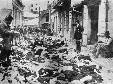 Devastirane i opljačkane trgovačke radnje Srba u Sarajevu 1914.
