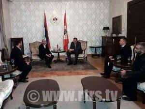 Dodik - Srbi iz Hrvatske Foto: RTRS