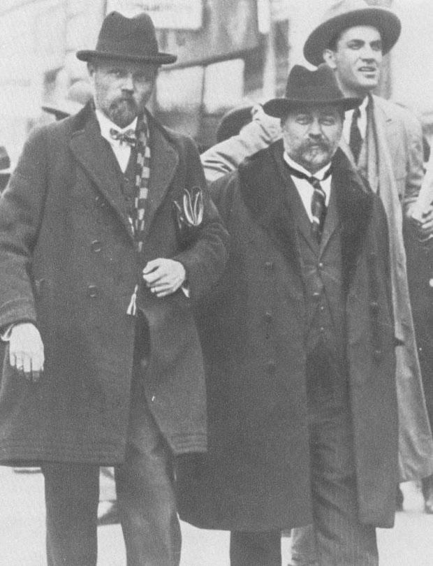 Pavle i Stjepan Radić, vođe Hrvatske seljačke stranke
