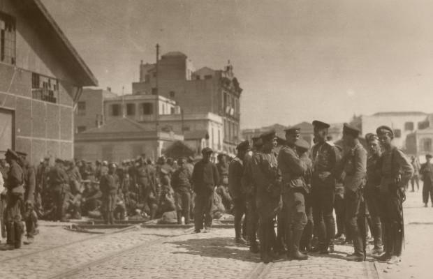 Ruske trupe u Solunu 1917.