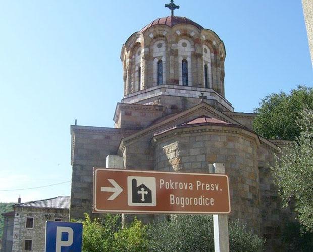 Srpska crkva u Kninu uopšte nije navedena u brošuri