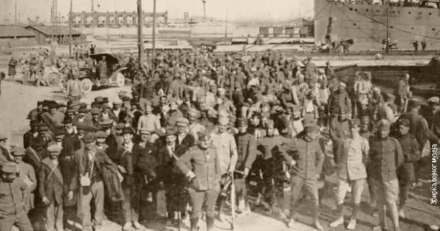 Srpski dobrovoljci stižu u Odesu