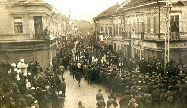 Ulazak srpske vojske u Novi Sad