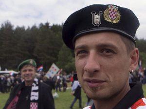 Ultra desničari iz Hrvatske Foto: AP