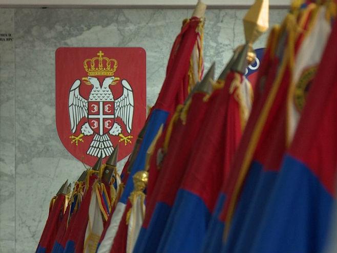 Застава Војске Републике Српске Фото: РТРС