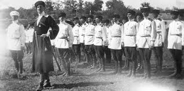 BELI Rusi u srpskoj vojsci