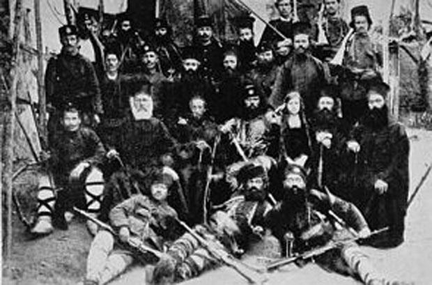 Sveštenici bugarske egzarhije i komite