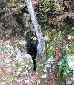 Otvor jame Cerovo Foto N. Janković