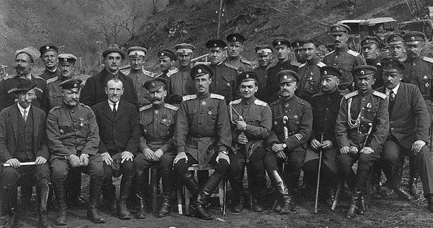 TRANSPORT Oficirski kadar generala Vrangela na putu Kraljevo - Raška, april 1924.