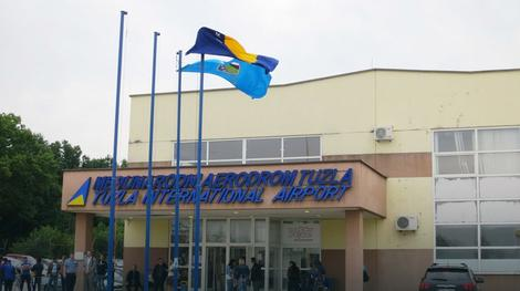 "Aerodrom u Tuzli u blizini baze ""Orao"" Foto: Klix.ba / RAS Srbija"