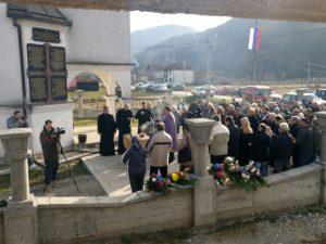 Bjelovac - parastos Foto: RTRS