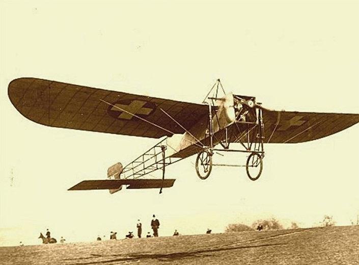 "Blerio — jedan od modela nazvan po konstruktoru francuskog letača i konstruktora Luja Blerija. © FOTO: IZ KNjIGE ""NEBO NA DLANU"""