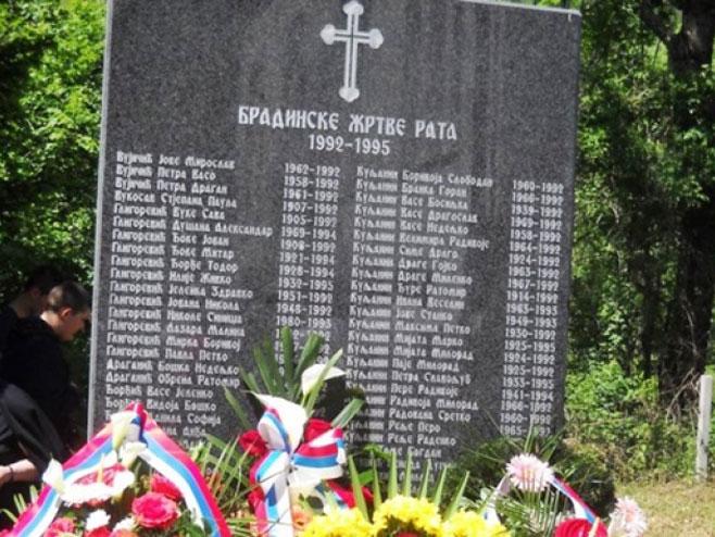 Srpske žrtve - Bradina (Foto:starmo.ba)