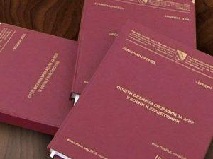 Dejtonski sporazum Foto: RTRS